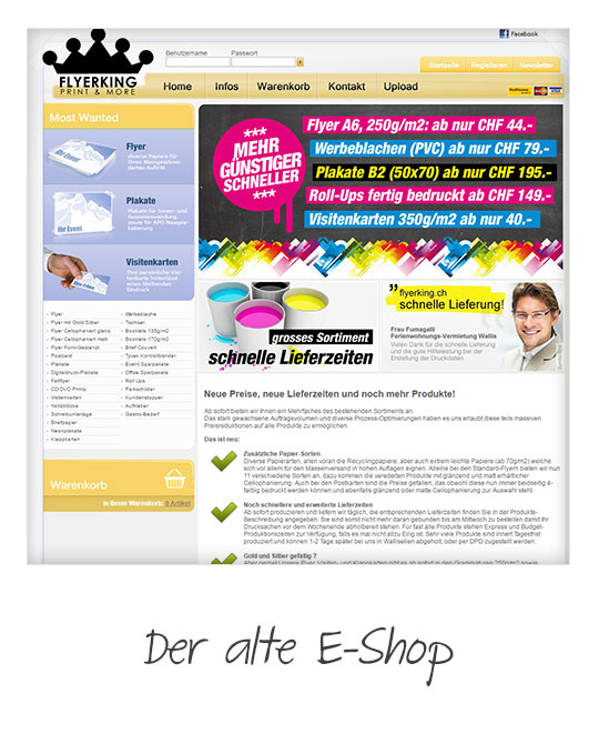 Flyerking Individuelles E Commerce Mit Magento Guave